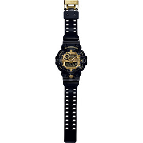 CASIO G-SHOCK GA-710GB-1AER Watch Men, black/black/gold